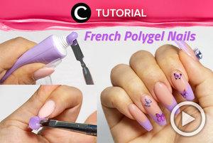 DIY French Polynail Gel: https://bit.ly/3yg4PcR. Video ini di-share kembali oleh Clozetter @ranialda. Lihat juga tutorial lainnya di Tutorial Section.