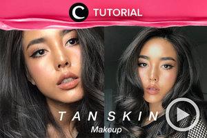 Coba makeup eksotis dengan kulit berwarna tan, yuk. Intip caranya di: http://bit.ly/3bDlFut. Video ini di-share kembali oleh Clozetter @kyriaa. Lihat juga tutorial lainnya di Tutorial Section.