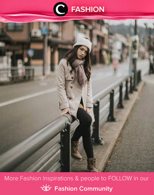 Throwback to last winter in Japan, posted by Clozette Ambassador @natahsu. Simak Fashion Update ala clozetters lainnya hari ini di Fashion Community. Yuk, share outfit favorit kamu bersama Clozette.