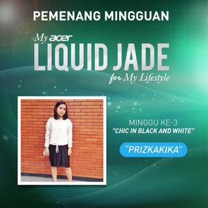Pengumuman Pemenang Minggu ke-3 My Acer Liquid Jade for My Lifestyle