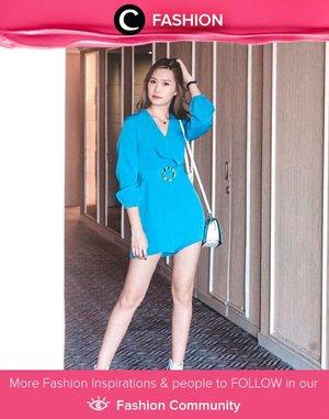 Eksentrik, Clozette Ambassador @amandatorquise memilih warna turquoise untuk OOTD-nya. Chic sekali, ya! Simak Fashion Update ala clozetters lainnya hari ini di Fashion Community. Yuk, share outfit favorit kamu bersama Clozette.