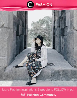 Ingin traveling weekend ini? Don't forget to invest your look on comfy yet artsy dresses, Clozetters! Image shared by Clozetter @rima_angel. Simak Fashion Update ala clozetters lainnya hari ini di Fashion Community. Yuk, share outfit favorit kamu bersama Clozette.