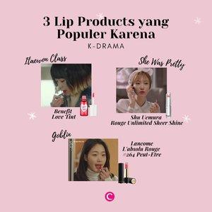 Gaya makeup drama Korea yang khas memang mempunyai banyak penggemar. Enggak heran, begitu ada scene pemeran sedang menggunakan makeup tertentu, biasanya produk tersebut langsung sold out terutama di negara asalnya yaitu Korea Selatan!.Hayo, siapa yang suka penasaran dengan makeup di drama Korea?.#ClozetteID #ClozetteIDCoolJapan #ClozetteXCoolJapan #KDrama #KDramaMakeup #KoreanMakeup #ItaewonClass #Goblin #SheWasPretty #KimGoEun #GoJoonHee #KimDaMi #ShuUemura #Benefit #Lancome