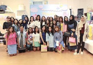 Thankyou ladies for coming on @gaudi_clothing playdate @eminacosmetics ! See you on the next event. Stay tuned! #clozetteid #gaudiplaydate #emina