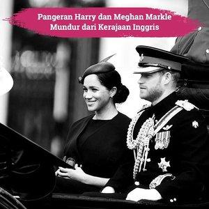 Pangeran Harry dan Meghan Markle baru saja membuat keputusan yang mengejutkan banyak orang, terlebih anggota keluarga kerajaan: The Duke and Duchess of Sussex ini akan mengundurkan diri dari Kerajaan Inggris..Hal ini dikabarkan melalui instagram dan website resmi mereka, dikatakan setelah ini mereka berdua ingin menghabiskan waktunya di Amerika dan mulai hidup mandiri secara finansial..Tentu saja hal ini membuat seluruh anggota kerajaan terkejut, khususnya Ratu Elizabeth II, karena kabarnya Pangern Harry dan Meghan Markle membuat keputusan ini tanpa melibatkan anggota kerajaan. Bagaimana menurutmu, Clozetters?🤷🏻♀️.📷 @sussexroyal #ClozetteID #SussexRoyal #PrinceHarry #MeghanMarkle