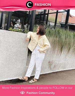 Stay stylish, stay comfortable! Image shared by Clozette Ambassador @cellinikamil. Simak Fashion Update ala clozetters lainnya hari ini di Fashion Community. Yuk, share outfit favorit kamu bersama Clozette.