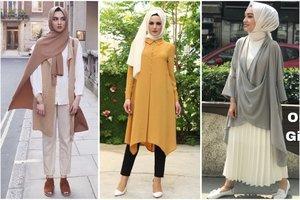 7 OOTD Hijab dan Baju Lebaran Hits Warna Earthy Tone yang Kalem dan Sopan
