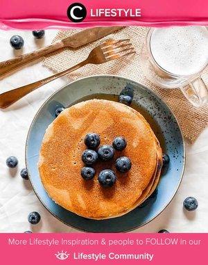 A power breakfast in rainy day ala Clozetter @chichi: pancake! Simak Lifestyle Update ala clozetters lainnya hari ini di Lifestyle Community. Yuk, share momen favoritmu bersama Clozette.