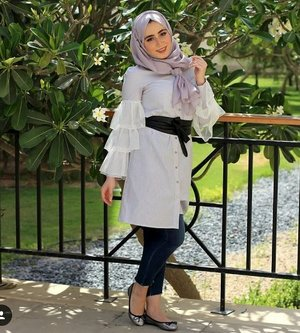 Fun and Colorful hijab outfits | | Just Trendy Girls