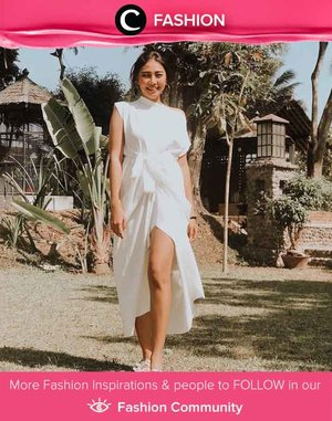 Clozetter @witaervianda shows her elegance in all-white outfit. Simak Fashion Update ala clozetters lainnya hari ini di Fashion Community. Yuk, share outfit favorit kamu bersama Clozette.