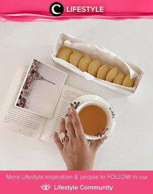 Rainy day must-have snacks: hot tea and yummy biscuits. Image shared by Clozette Ambassador @cellinikamil. Simak Lifestyle Update ala clozetters lainnya hari ini di Lifestyle Community. Yuk, share momen favoritmu bersama Clozette.