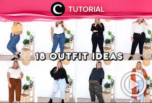 18 outfit ideas for plus-sizes: http://bit.ly/2Np5Yge. Video ini di-share kembali oleh Clozetter @kamiliasari. Lihat juga tutorial lainnya di Tutorial Section.