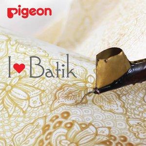 Rayakan Hari Batik, Pigeon Luncurkan Botol Motif Khas Indonesia