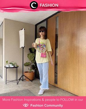 Picking up your morning coffee with style! Image shared by Clozetter @isnadani. Simak Fashion Update ala clozetters lainnya hari ini di Fashion Community. Yuk, share outfit favorit kamu bersama Clozette.