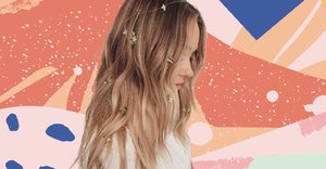 Lauren Conrad speckled her long hair with fresh blooms for spring and it's sparking serious joy