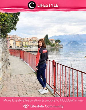 Clozetter @angeliasamodro visited this beautiful city called Varenna when she was in Italy. It is surrounded by the lake, and you can see the mountain view from the alleyway. Simak Lifestyle Updates ala clozetters lainnya hari ini di Lifestyle Community. Yuk, share juga momen favoritmu.
