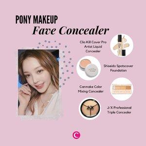 Siapa yang selalu ikutin video tutorial dari makeup artist yang satu ini? Setelah sekian lama kepo, Clozette akhirnya merangkum 4 produk concealer yang selalu jadi andalan @ponysmakeup di tutorialnya! Psst, PONY terkadang menggunakan high coverage cream foundation sebagai pengganti concealer, lho. Ada salah satu produk favorit kamu juga?.#ClozetteID #ClozetteIDCoolJapan #ClozetteXCoolJapan #Pony #PonysMakeup #PonyMakeup #KoreanMakeup