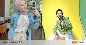 10 Gaya Mirror Selfie ala Influencer Hijab, Jadi Inspirasi Berpose