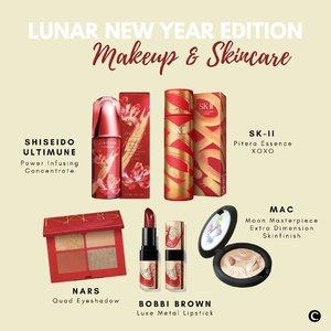 Di tahun baru, produk-produk best seller ini juga tampil nggak kalah menawan dalam balutan limited edition design! Mana yang jadi wishlist kamu?.@maccosmeticsid @bobbibrownid @skii @narsissist @shiseido#ClozetteID #ClozetteIDCoolJapan #ClozetteXCoolJapan #LunarNewYear2021