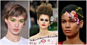 '80s Hair, Neon Eyeshadow, and 5 More Jaw-Dropping Looks from Paris Couture