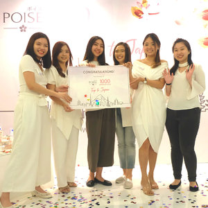 Percaya Diri Dan Kreatif, 5 Pemenang Poise 1000 Luminous Faces Ini Akan Berangkat Ke Jepang!