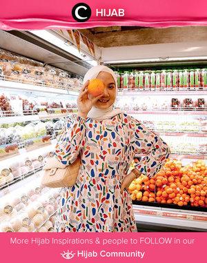 Grocery shopping in style ala Clozetter @nabilaaz. Simak inspirasi gaya Hijab dari para Clozetters hari ini di Hijab Community. Yuk, share juga gaya hijab andalan kamu.
