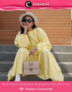 We're obsessed with this look by Clozette Ambassador @diarykania. Tt's both feminine and cheerful! Simak Fashion Update ala clozetters lainnya hari ini di Fashion Community. Yuk, share outfit favorit kamu bersama Clozette.