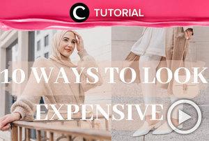 Look classy in every HOTD you wear. Steal the tips from: http://bit.ly/3aEJW0c. Video ini di-share kembali oleh Clozetter @saniaalatas. Lihat juga tutorial lainnya di Tutorial Section.