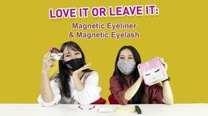 Ada magnetic eyelash tipe baru, nih dari merek lokal Wink Eyelash yang aplikasinya beda dari jenis sebelumnya. Kalau yang ini, dibantuk dengan magnetic eyeliner! Hmm.. Apakah gampang dipakai dan bisa jadi alternatif bulu mata biasa? Ceki review dari @puitika dan @cyndaadissa di video terbaru Love It or Leave It! https://bit.ly/LIOLIMagnetLash (link di bio)..Psst, jangan lupa ikutan giveaway dengan hadiah menarik senilai 200.000 rupiah untuk masing-masing 5 orang pemenang! Cek info giveaway di description box video YouTube ya..#ClozetteID #CIDYouTube#Giveaway #magneticlashes #magneticeyeliner