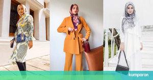 4 Tips Padu Padan Hijab Motif untuk Tampil Lebih Stylish