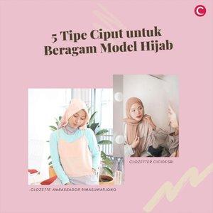Ciput atau dalaman untuk hijab ternyata banyak jenisnya, lho. Pemilihan tipe ciput dapat disesuaikan dengan model hijab. Ada juga ciput telinga yang dibuat untuk mencegah suara terhalang saat sedang menggunakan hijab! Tipe ciput mana yang sering kamu gunakan, Clozetters?.📷 @elzattahijab @zoyalovers @rimasuwarjono @cicidesri #ClozetteID #ClozetteIDVideo #CiputHijab #Ciput
