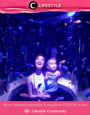Ajak si Kecil belajar tentang biota laut dengan megunjungi salah satu aquarium di Jakarta. Image shared by Clozetter @meltandun. Simak Lifestyle Updates ala clozetters lainnya hari ini di Lifestyle Community. Yuk, share juga momen favoritmu.