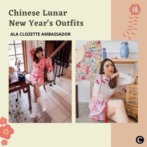 Sebentar lagi Chinese Lunar New Year, nih Clozetters! Siap untuk berkumpul secara virtual dengan keluarga besar, harus tetap tampil stylish, dong! Ada inspirasi gaya outfit  yang stylish ala Clozette Ambassador, simak videonya, yuk!  📷 @steviiewong @priscaangelina @vicisienna @amandatorquise @kathlakz  #ClozetteID #ClozetteIDVideo #LunarNewYear2021 #OotdInspiration