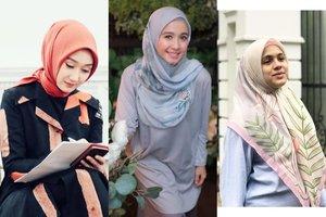 7 Cara Pakai Hijab Segi Empat yang Simpel untuk Kondangan Ala Selebriti