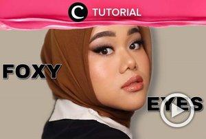 Clozetter @shafirasyahnaz membagikan kembali video beauty influencer Fatya Biya tentang tampilan makeup foxy eyes yang cocok untuk kamu para hijaber. Lihat di: https://bit.ly/34qfoNC. Jangan lupa kunjungi Tutorial Section untuk mengintip berbagai video tips dan tutorial lainnya!