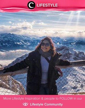 Hello from 2,132 m above sea level! Image shared by Clozette Crew @dsyarsi. Simak Lifestyle Updates ala clozetters lainnya hari ini di Lifestyle Community. Yuk, share juga momen favoritmu.