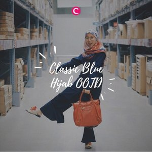 Pantone color of the year 2020: Classic Blue💙 Yuk intip ootd Clozetters menggunakan outfit classic blue melalui video berikut ini #ClozetteID #ClozetteIDVideo