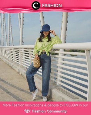 Casual mood is in the air with the neon shirt! Image shared by Clozette Ambassador @janejaneveroo. Simak Fashion Update ala clozetters lainnya hari ini di Fashion Community. Yuk, share outfit favorit kamu bersama Clozette.