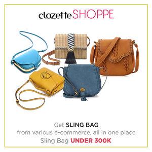 Sling bag merupakan padanan yang tepat untuk apapun outfitmu. Bentuknya yang kecil dan modelnya yang stylish mudah dibawa saat berpergian dan membuatmu tetap tampil modis. Belanja sling bag baru DI BAWAH 300k via #ClozetteSHOPPE! http://bit.ly/1Q3VnLG