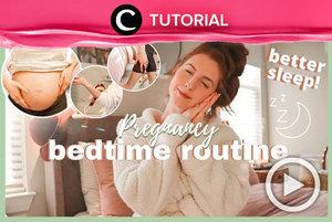 Bumil, sering insomnia? Intip cara pampering berikut untuk meningkatkan kualitas tidurmu: http://bit.ly/3pELdLw. Video ini di-share kembali oleh Clozetter @zahirazahra. Lihat juga tutorial lainnya di Tutorial Section.