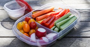 A Mom Convinced Her Kids to Eat Healthy Snacks With Her Simple Storage Hack