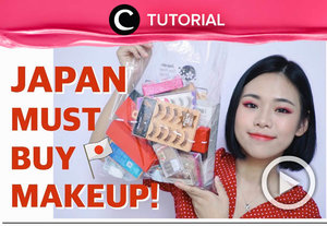 Japan makeup haul! Yuk, intip di: http://bit.ly/2tt98pH. Video ini di-share kembali oleh Clozetter @juliahadi. Lihat juga tutorial dan tips lainnya di Tutorial Section.