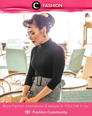Clozette Ambassador @bebelicious' Audrey Hepburn inspired look for a retro-themed brunch. What do you think, Clozetters? Simak Fashion Update ala clozetters lainnya hari ini di Fashion Community. Yuk, share outfit favorit kamu bersama Clozette.