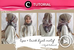 Ingin tampil lebih berwarna? Yuk, intip tips & trick mengenakan hijab motif di: https://bit.ly/2GlNwlo. Video ini di-share kembali oleh Clozetter @saniaalatas. Lihat juga tutorial lainnya hanya di Tutorial Section.