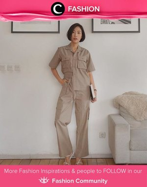 Safari vibes so strong in Clozette Ambassador @janejaneveroo outfit. Simak Fashion Update ala clozetters lainnya hari ini di Fashion Community. Yuk, share outfit favorit kamu bersama Clozette.