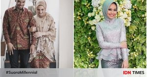 10 Kebaya Hijab yang Dijamin Bikin Kamu Anggun di Hari Pertunangan!