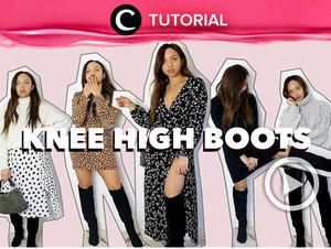 Sudah sempat lihat video Boots Styling ala Clozette Ambassador Wulanwu di Instagram Clozette? Nah, untuk menambah inspirasimu, tonton juga Knee-High Boots Styling berikut : http://bit.ly/2zGllr1. Video ini di-share kembali oleh Clozetter @aquagurl. Simak juga tutorial lainnya di Tutorial Section.