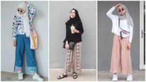 Buat Pengganti Celana Jeans, Ini 9 Ide OOTD Hijab Pakai Kulot Warna Cerah!