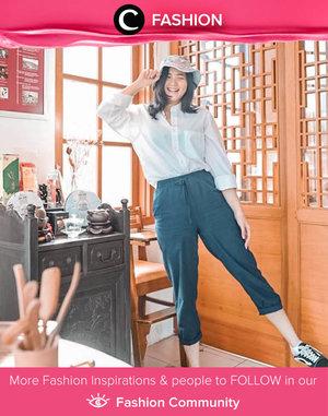 Today's mood: Happy! Image shared by Clozetter @jennitanuwijaya. Simak Fashion Update ala clozetters lainnya hari ini di Fashion Community. Yuk, share outfit favorit kamu bersama Clozette.