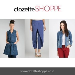 Denim on denim kembali jadi tren, Clozetters! Yay or Nay? Sebelum belanja outfit denim terbaru di #ClozetteSHOPPE, kamu bisa baca tips padu padan denim on denim di fitur style report agar penampilanmu tidak membosankan.  http://bit.ly/denimvsdenim . . . #denim #ClozetteID #OOTDdenim #denimoutfit #denims #denimjacket #denimondenim #denimdress #denimshirt #denimshort #denimvest